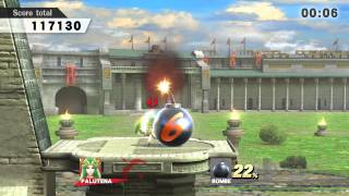 Super Smash Bros Wii U : Défis In the Space-Pirate Ship