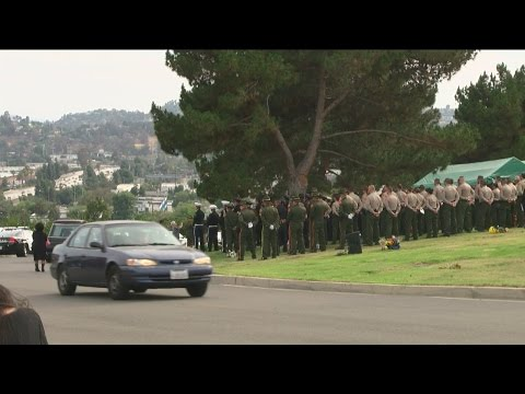 Memorial service for Bakersfield Police Department officer David Nelson
