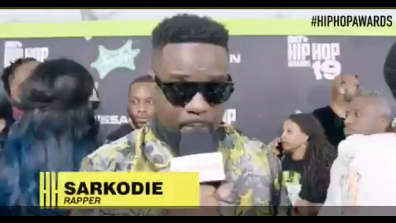 Download Sarkodie murders French Rapper Kalash At BET HipHop Awards Cypher.