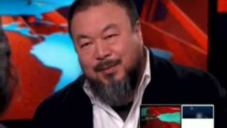 Ai weiwei interviewed on CNN