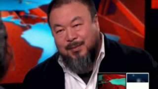 Ai weiwei interviewed on CNN