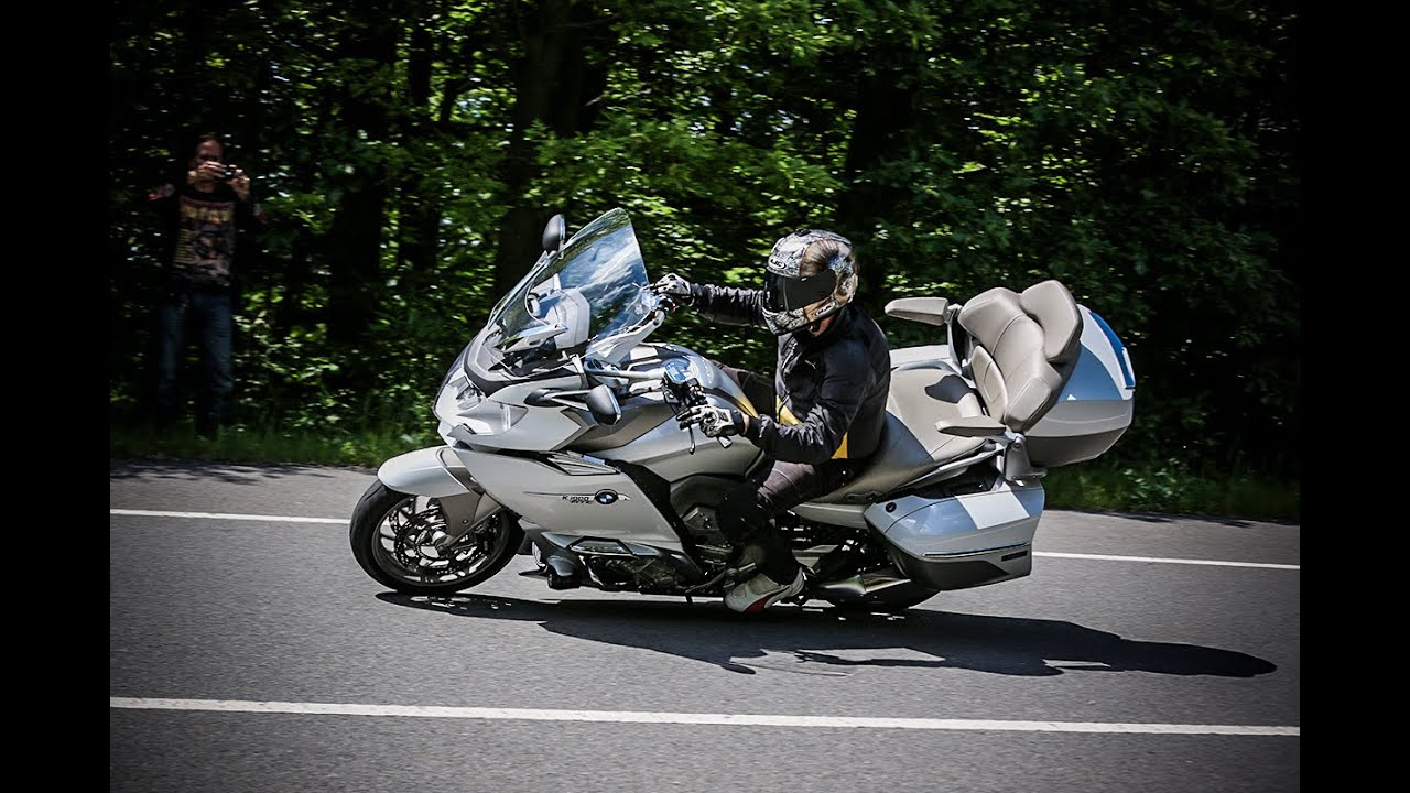 bmw k 1600 gtl exclusive - youtube
