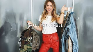HUGE TRY ON FALL HAUL! (Princess Polly, Triangl Bikini + Chloe Mini Faye!) | Allegra Shaw