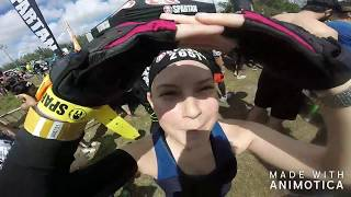 Couples Challenge - Spartan Sprint 2018 FULL RACE - Amelia Earhart Park - Miami, FL