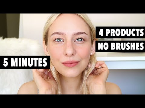 5 MINUTE MAKEUP USING ONLY 4 PRODUCTS