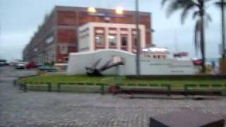 Anker der Admiral Graf Spee - Denkmal im Hafen von Montevideo