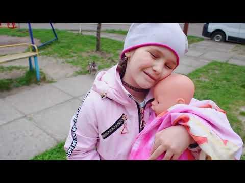 Кукла Беби Бон Настя ПОДКИДЫШ Беби Бон плачет Яна КАК МАМА Crying Baby Born doll