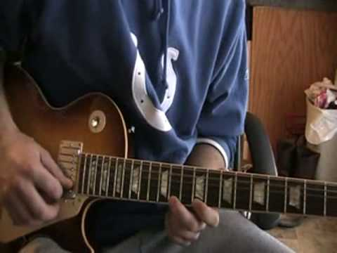 Everything Changes by Staind solo instructional
