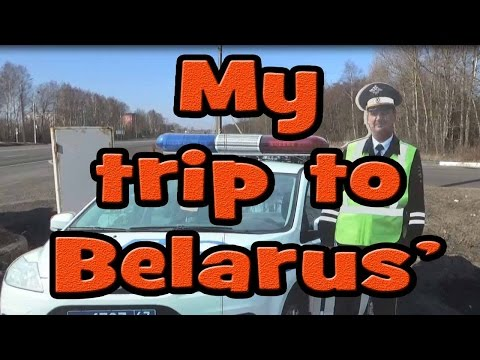 My trip to Belarus.