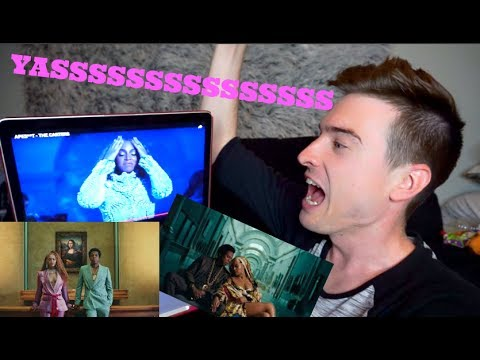 APES**T - THE CARTERS - BEYONCE {REACTION}