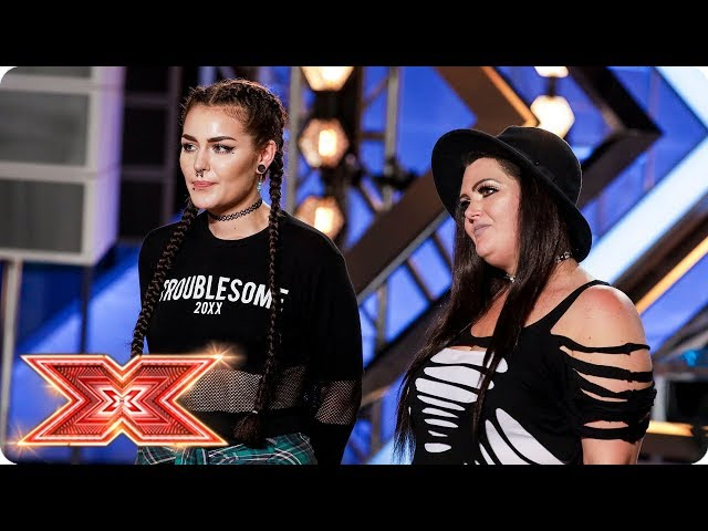 Mother-daughter duo Descendance cover Macklemore   Auditions Week 3   The X Factor 2017