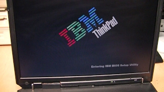 IBM ThinkPad A30 and A31 with LS-240 drives