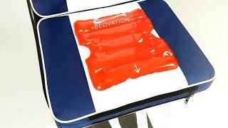 How to use Beovation's heat pad with the seat cushion
