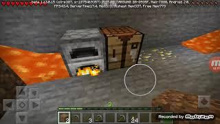 Minecraft bölüm #2madencilik😊😄