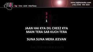 Mahi ve - Video Karaoke - Fakhir - by Baji Karaoke