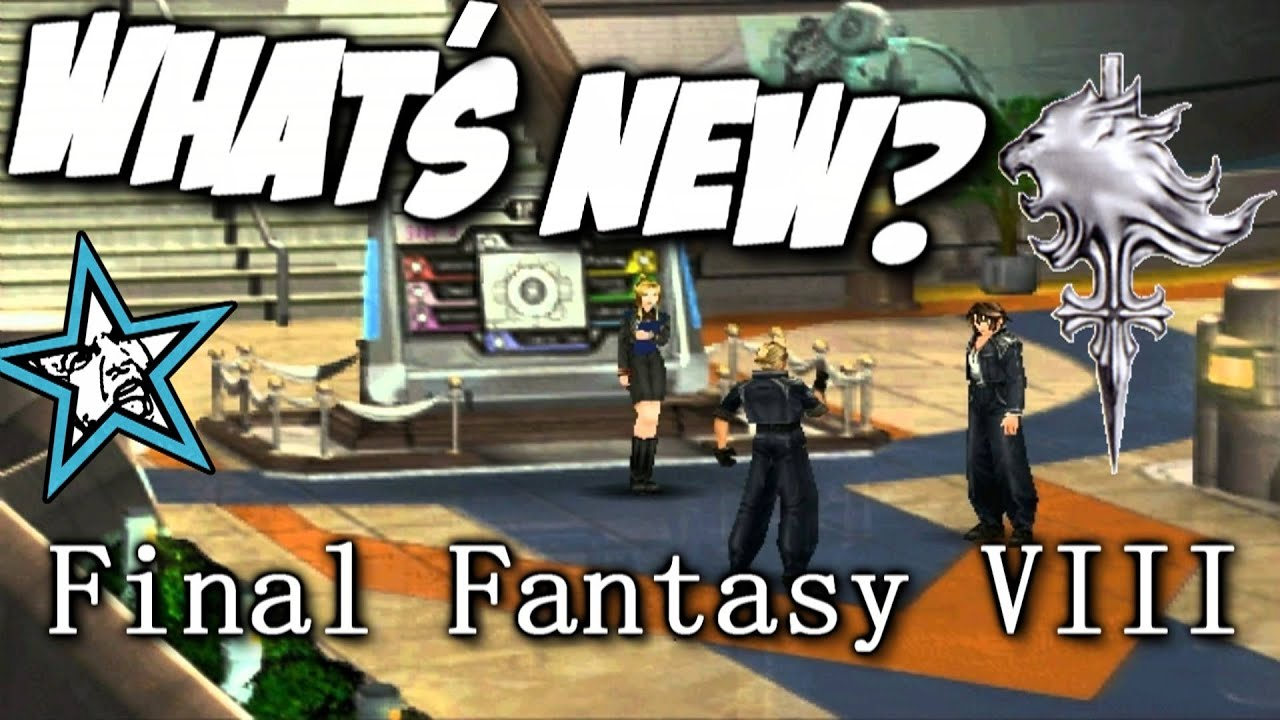 Final fantasy viii pc re release gameplay what 39 s new for Final fantasy 8 architecture