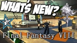 Final Fantasy VIII - PC Re-Release Gameplay - What's New?!