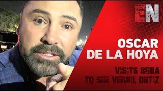 Oscar De La Hoya Visits RGBA To See Vergil Ortiz Train - EsNews Boxing