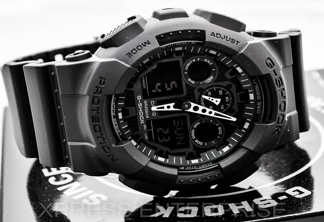 5a3ebb58a9f Casio GSHOCK XL GA100-1A1 REVIEW