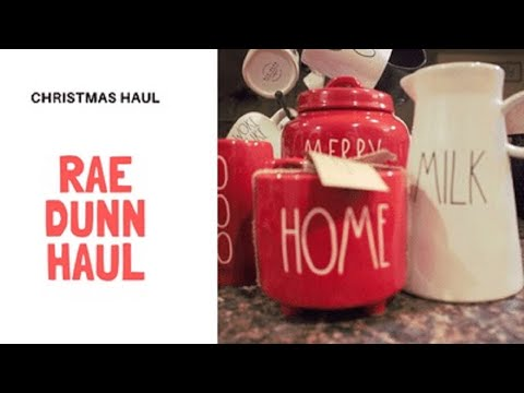 Jackpot Rae Dunn Sunday Christmas Haul 2019