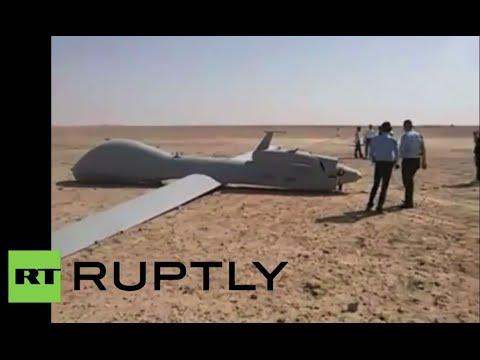 Drone Down! US predator aircraft found crash landed in Iraq