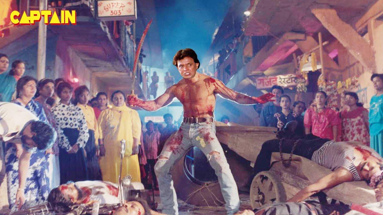"""मिथुन चक्रवर्ती, आदित्य पंचोली की अब तक की सब से खतरनाक फिल्म """" बगावत - एक जंग """" #Mithun Chakraborty"""