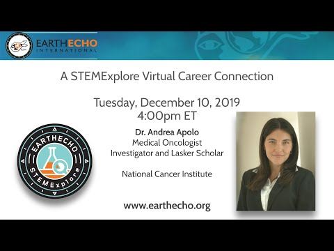 STEMExplore Virtual Career Connection With Dr. Andrea Apolo