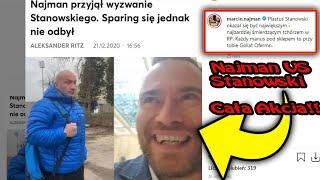 Marcin Najman VS Stanowski Cała Akcja i nie udany sparing XDD