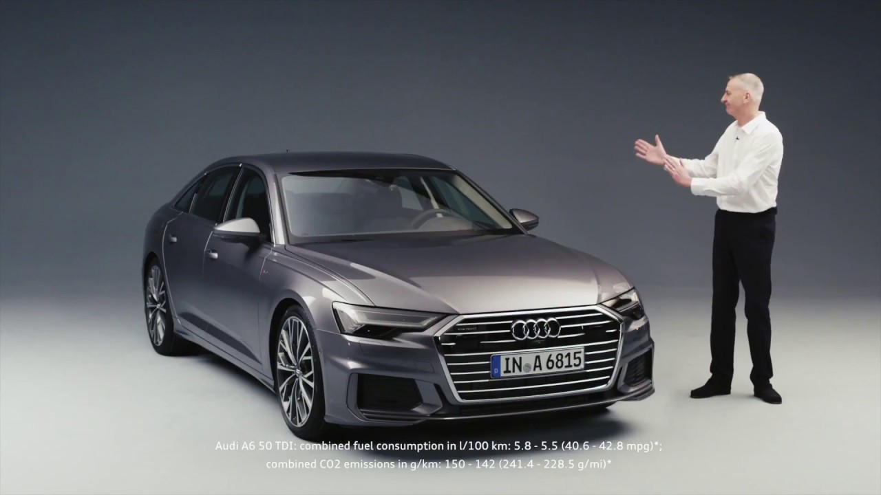 the new audi a6 c8 2018 in detail youtube. Black Bedroom Furniture Sets. Home Design Ideas