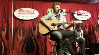 """Nick Carter """"Quit Playing Games With My Heart"""" Acoustic Performance"""
