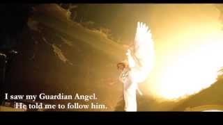 St. Faustina visits Purgatory with Guardian Angel
