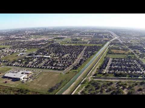 Aerial View RGV sky shot Mcallen,TX
