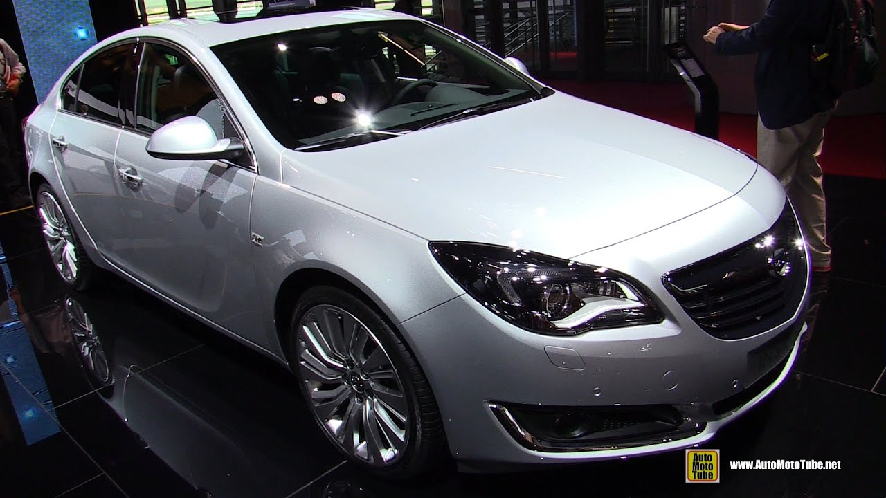 2015 opel insignia cosmo diesel exterior and interior for Interior opel insignia 2015