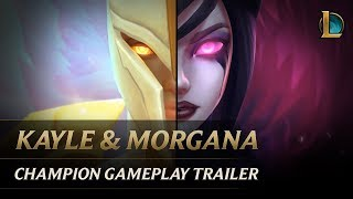 Kayle and Morgana: The Righteous and the Fallen | Champion Gameplay Trailer - League of Legends