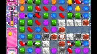 Candy Crush Saga Level 1248 (No booster, 3 Stars)