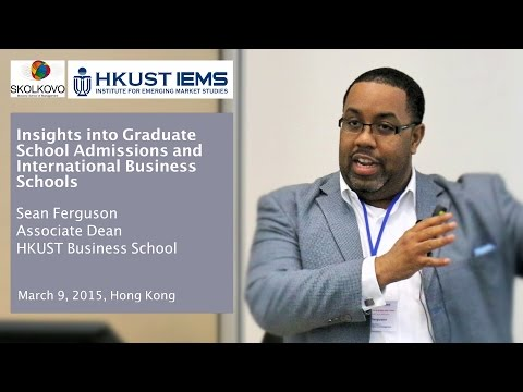 Sean Ferguson: Insights into Graduate School Admissions and International Business Schools