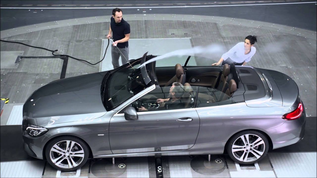 The new mercedes benz c class cabriolet aerodynamics for New mercedes benz convertible