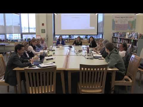 Manchester-Essex Regional School Committee - March 19, 2019