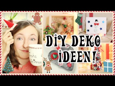 diy deko ideen f r weihnachten mit kn pfen lauraswinter youtube. Black Bedroom Furniture Sets. Home Design Ideas
