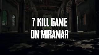 Xbox PUBG Highlight | 7 Kill Game on Miramar
