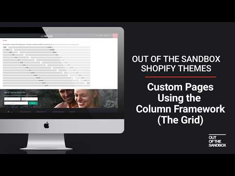 Out of the Sandbox - Custom Pages using the Grid