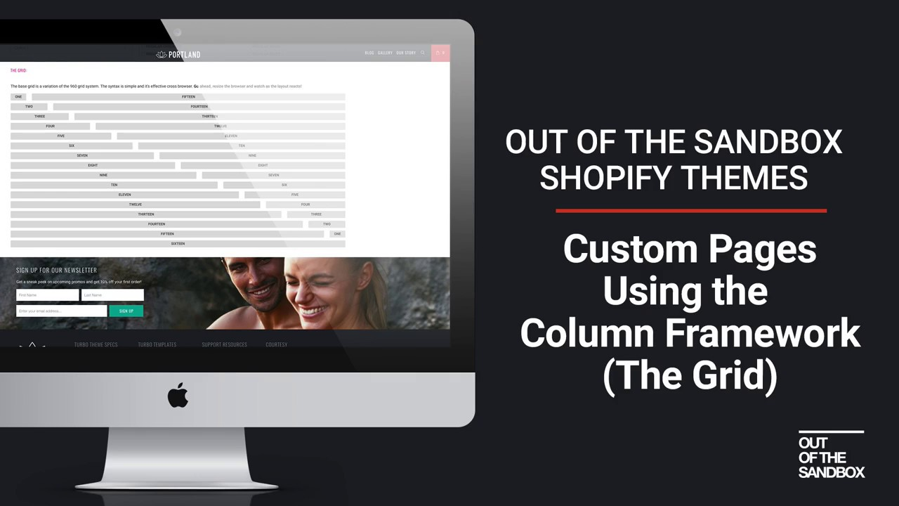 How to create a multiple column page using page multi-column – Out