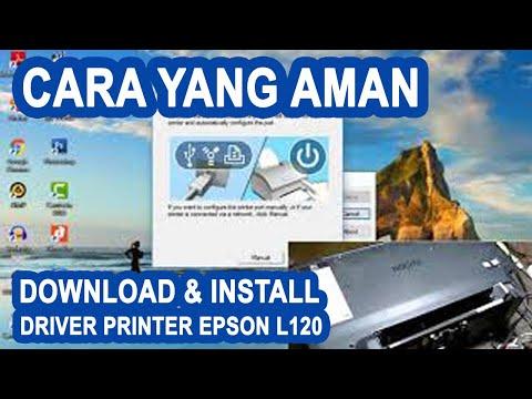Cara instal driver printer Epson L120 tanpa cd adalah salah satu solusi untuk menggantikan cd driver.
