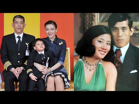 Colourful past of  new king  of Thailand