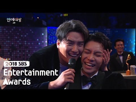 "Seungri ""We're really similar to each other!!"" [2018 SBS Entertainment Awards]"