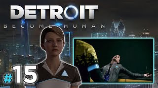 "DETROIT: Become Human [PS4] #15 - ""Connor! Nieee!"""
