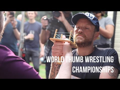 Woody and Wilcox - You Missed The World Thumb Wrestling Championships This Weekend!
