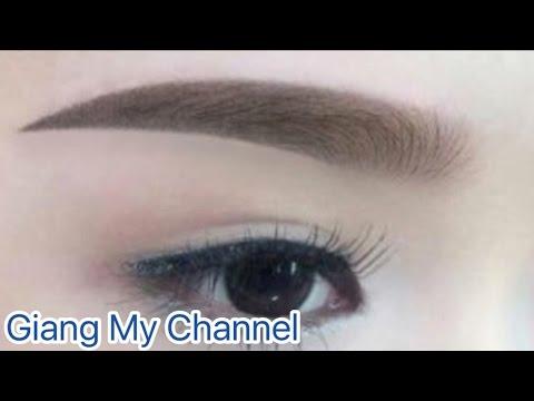 Diy Lipstick – Hướng Dẫn Vẽ Chân Mày Ngang – How To : Eyebrow Tutorial