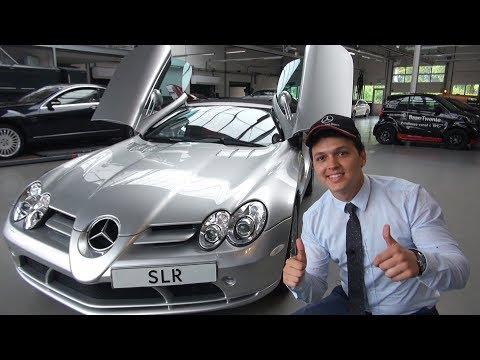 INSANE Features Of The €700,000 Mercedes SLR Mclaren!!!