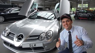 INSANE Features Of The €700,000 Mercedes SLR Mclaren!!!